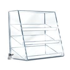 slanted shelf acrylic slanted front angled shelf case slanted wall shelf with lip