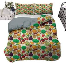 800 x 800 jpeg 102 кб. Amazon Com Painting Home Quilt Cover Anime Vegetable Fruit Kawaii Summer Bedding For Women Men S Bedroom Twin 70 X 90 Inch Home Kitchen