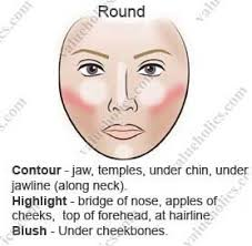 makeup contouring for round face contouring for a round face