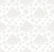 Floral Pattern New Seamless Simple Floral Pattern Graphics Creative Market