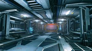 Yes Another Sci Fi Hallway polycount