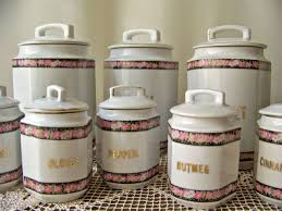 Rustic Kitchen Canister Sets Kitchen Containers Diamond 3 Piece Canister Set Diamond 3 Piece