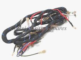triumph bsa twins cloth main wiring harness 54960710 1971 72 BSA Hornet at Bsa A65 Wiring Harness Routing