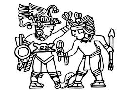 Small Picture King of Aztec Bless His Warrior Coloring Pages Bulk Color