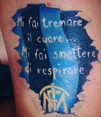 Tatuaggi Inter Inviati Dai Fan Facebook
