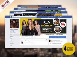 business facebook timeline cover psd bundle