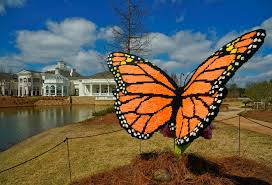 nature connects art with lego bricks exhibit by sean kenney at the huntsville botanical garden