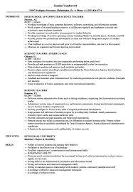 Computer Instructor Resume Sample Sample Resume