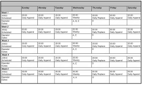Excel Monthly Meeting Schedule Template Templates Njaynde
