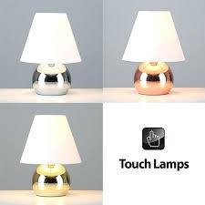touch lamp dimmer modern touch dimmer bedside lounge table lights lamps in chrome copper or gold