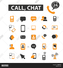 Chart Chat Connect Chat Icons Chat Logo Vector Photo Free Trial Bigstock
