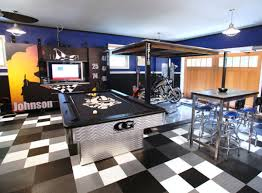 Garage space is often only a haven for cobwebs, when in fact the garage can  be used as man cave in which you can develop a hobby, make things or just  unwind ...