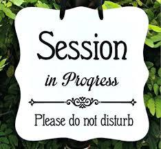 In Session Door Hanger Imef