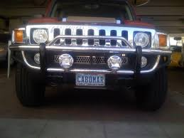 Hummer H3 Off Road Lights Hummer H3 H3t Brush Lamp Bar Off Road Driving Lights Auxiliary Kit