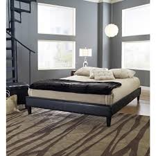 Zoom Room Bed Reviews Rest Rite Fairview Queen Faux Leather Upholstered Bed