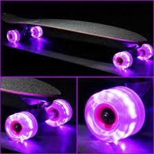 Light Up Longboard Wheels Pin On Skateboarding