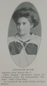 Gertrude Blair - Davenport High School... - Davenport Iowa History    Facebook