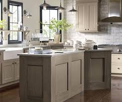 Taupe kitchen cabinets Neutral Kitchen Cabinets In True Taupe Cabinet Paint With Angora Accents Decora Cabinets Taupe Kitchen Cabinets Decora Cabinetry