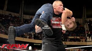 """Alan Ly on Twitter: """"Who would like to see Brock Lesnar F5 Brock Turner?  #Raw… """""""