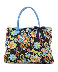 Monogrammable quilted floral large tote bag handbag purse QFJ2705 ... & Monogrammable quilted floral large tote bag handbag purse QFJ2705(BRTQ)  BJ900 Adamdwight.com