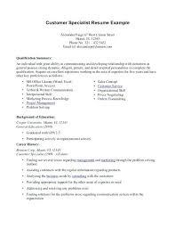 Resume Summary Of Qualifications Sample Resume Creator Simple Source