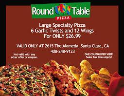 table orland ca pizza california napma