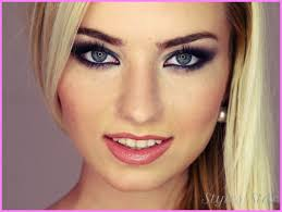 blue eyes blonde hair cool makeup ideas for brown eyes photos photo