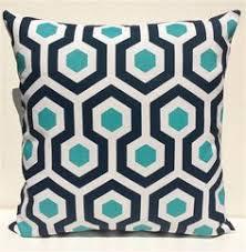 Navy Blue Flamingo Outdoor Cushion Cover