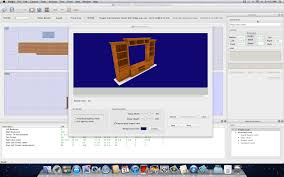 cabinet making design software image of first sketchlist 3d mac