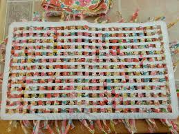 Fabric Rug Diy Rag Rug Diy Waverize Sensiblysaracom