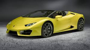 Lamborghini reveals RWD Huracan Spyder | Top Gear