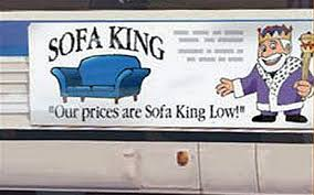 sofa king low. Sofa King Advert Sofa King Low Telegraph