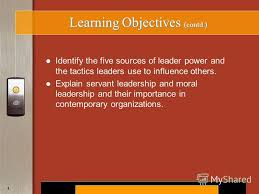 Short Essay On Leadership The Five Sources Of Power Used By A Leader Management Essay