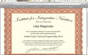 i received my as a health coach from the insute for integrative nutrition s cutting edge health coach program