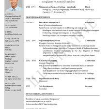 international format of cv resume latest format resume cv cover letter samples of resumes with
