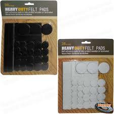 felt pads 38pcs black white martjet