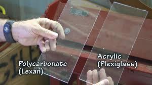 choosing lexan or plexiglass for your aircraft