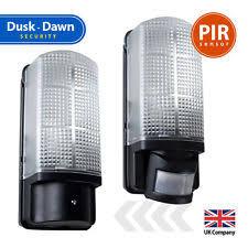 dawn to dusk light. PIR Dusk Till Dawn Outdoor Motion Sensor Porch Security Garden Bulkhead Light To