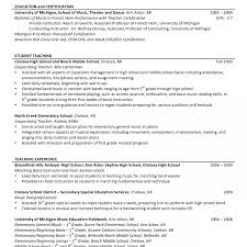 Resume Description Examples Dance Teacher Resume Cover Letter Objective Example Sample High 15