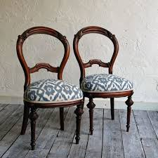 wood and fabric dining chairs incredible room chair upholstery for decorating ideas 20