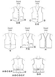 Mens Vest Pattern Free