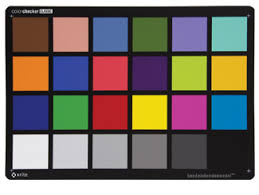 Dvshop Ca Toronto Datacolor Spydercheckr 24 Color Chart Grey