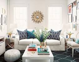 White couch pillows Pillow Cover The Blue Pillows Perk Up The White Sofa Livinator The Power Of Decorative Pillows