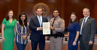 governor ron desantis and cabinet
