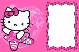 Printable Hello Kitty Invitations Personalized Hello Kitty Party Invitation Template Printable Templates