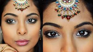 navratri special indian party makeup collab with shrutiarjunanand full face bollywood makeup you
