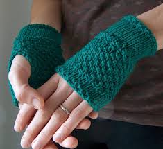 Free Fingerless Gloves Knitting Pattern Stunning Easy Fingerless Mitts Knitting Patterns In The Loop Knitting