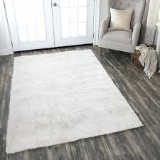 solid ivory area rug 8x10 hand tufted super soft cream 5 x polyester 7 solid color area rugs