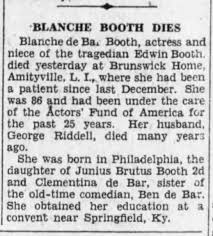 1930 APR 15 BKLYN DAILY EAGLE - BLANCHE BOOTH - ACTRESS - Newspapers.com