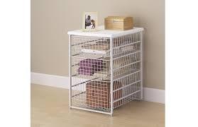 drawer frame set for basket system